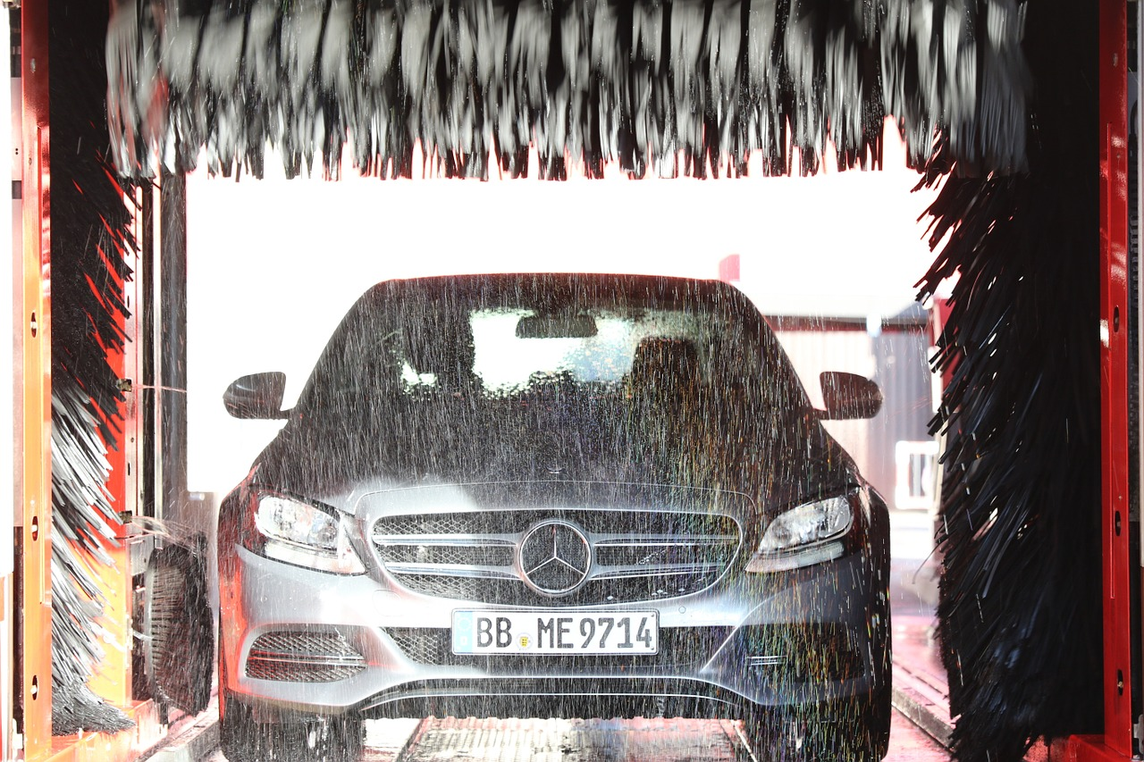 Mytí aut od automyček BKF CarWash